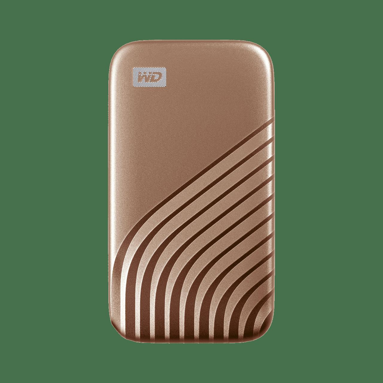 Ext. SSD WD My Passport SSD 1TB zlatá - WDBAGF0010BGD-WESN
