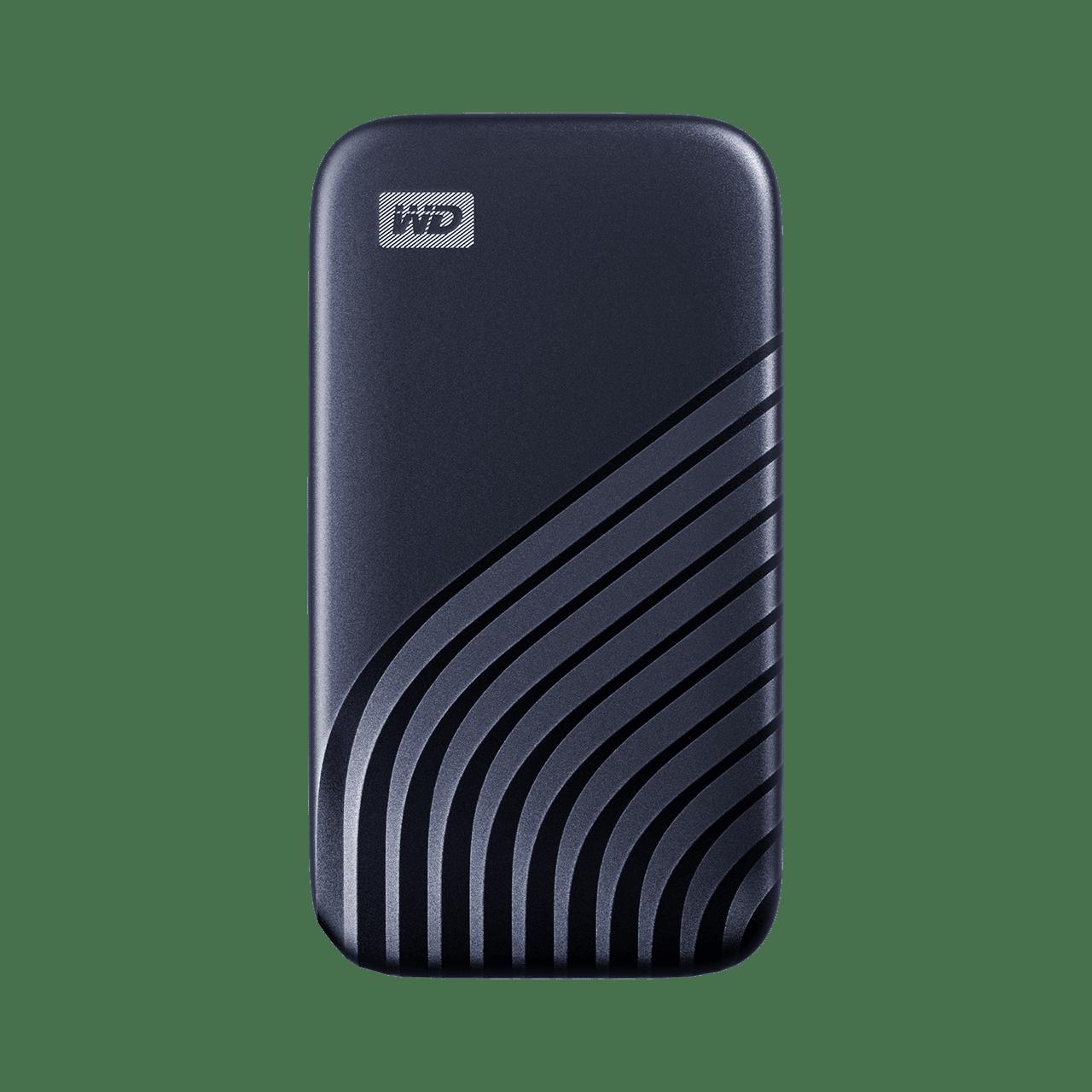 Ext. SSD WD My Passport SSD 2TB modrá - WDBAGF0020BBL-WESN