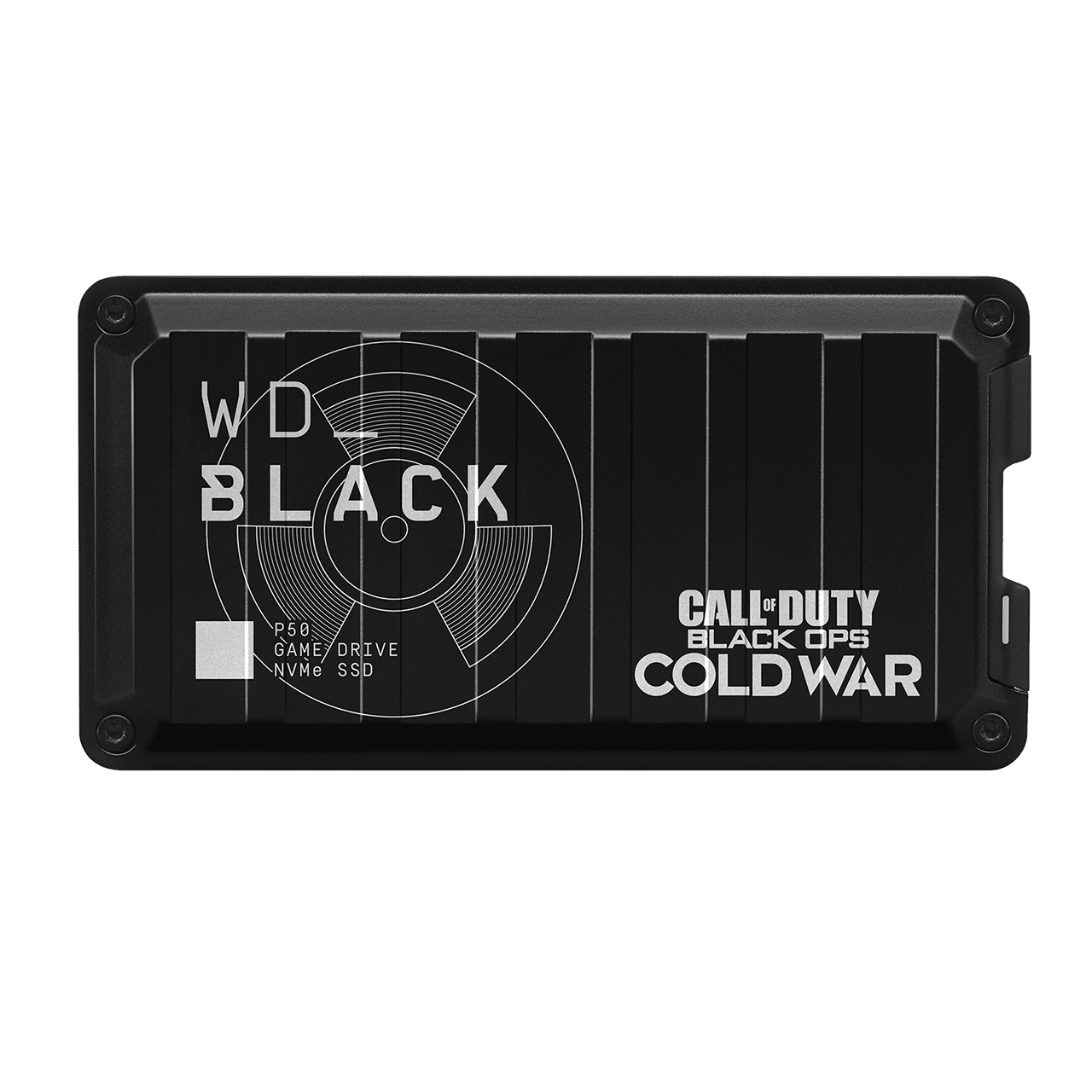 Ext. SSD WD Black P50 Game Drive 1TB Call of Duty - WDBAZX0010BBK-WESN