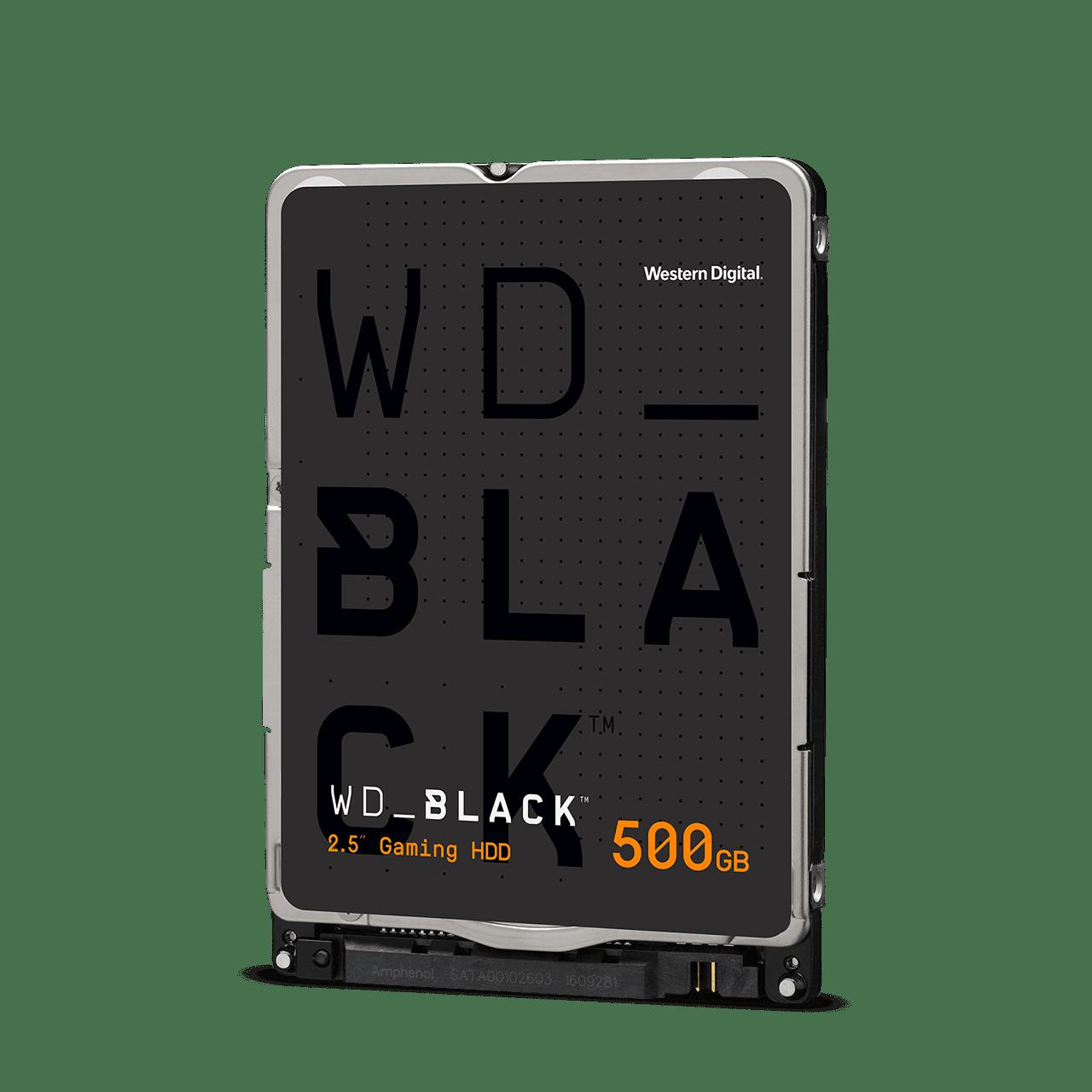 HDD 2,5'' 500GB WD5000LPSX Black SATAIII 7.2k 64MB - WD5000LPSX