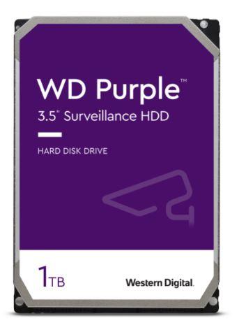 HDD 1TB WD10PURZ Purple 64MB SATAIII 5400rpm 3RZ - WD10PURZ