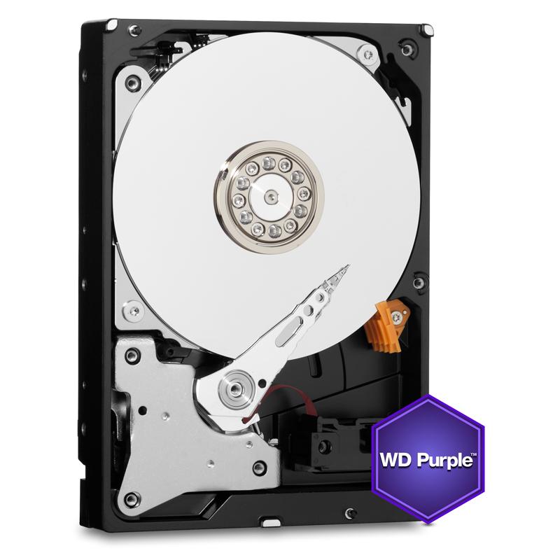 HDD 2TB WD20PURX Purple 64MB SATAIII IntelliP.3RZ