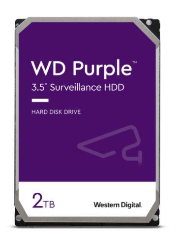 HDD 2TB WD20PURZ Purple 64MB SATAIII 5400rpm 3RZ - WD20PURZ