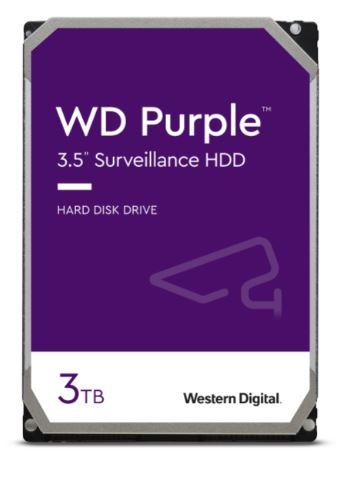 HDD 3TB WD30PURZ Purple 64MB SATAIII 5400rpm 3RZ - WD30PURZ
