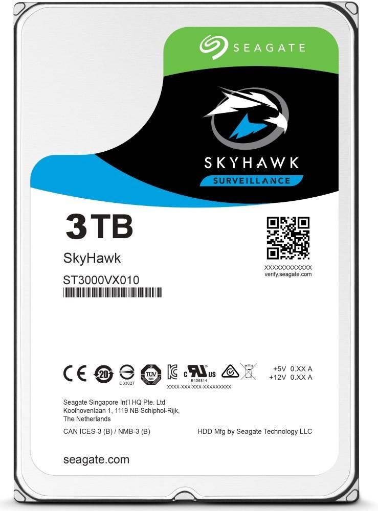 HDD 3TB Seagate SkyHawk 256MB SATAIII 5400rpm 3RZ