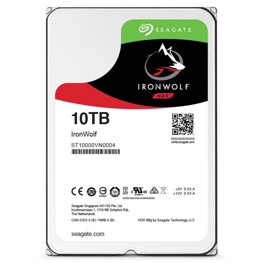 HDD 10TB Seagate IronWolf 256MB SATAIII 7200rpm