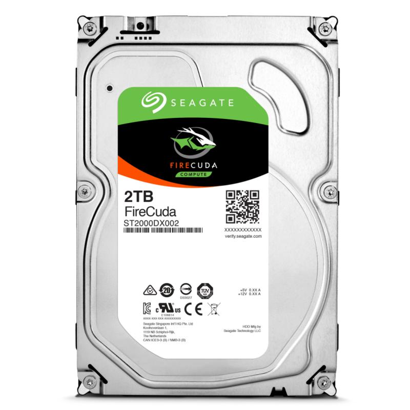 SSHD 2TB Seagate FireCuda 64MB SATAIII 8GB NAND