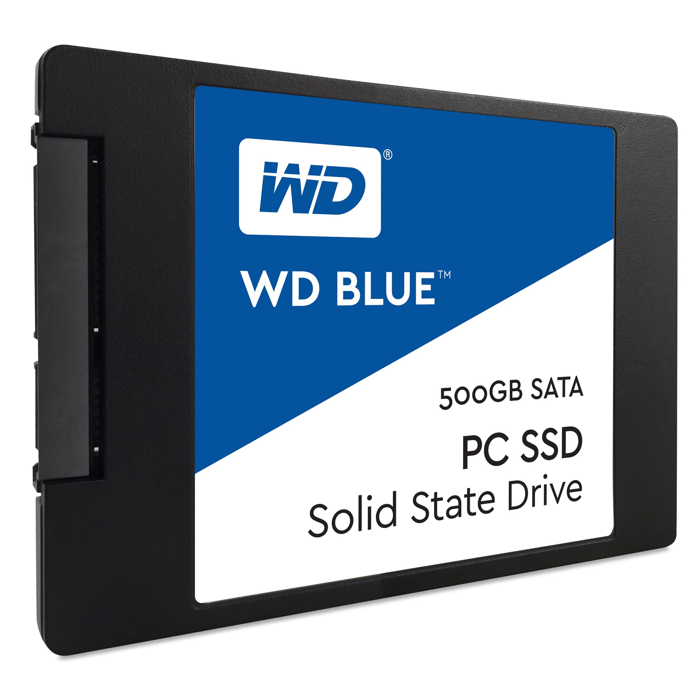 """SSD 2,5"""" 500GB WD Blue SATAIII 7mm"""