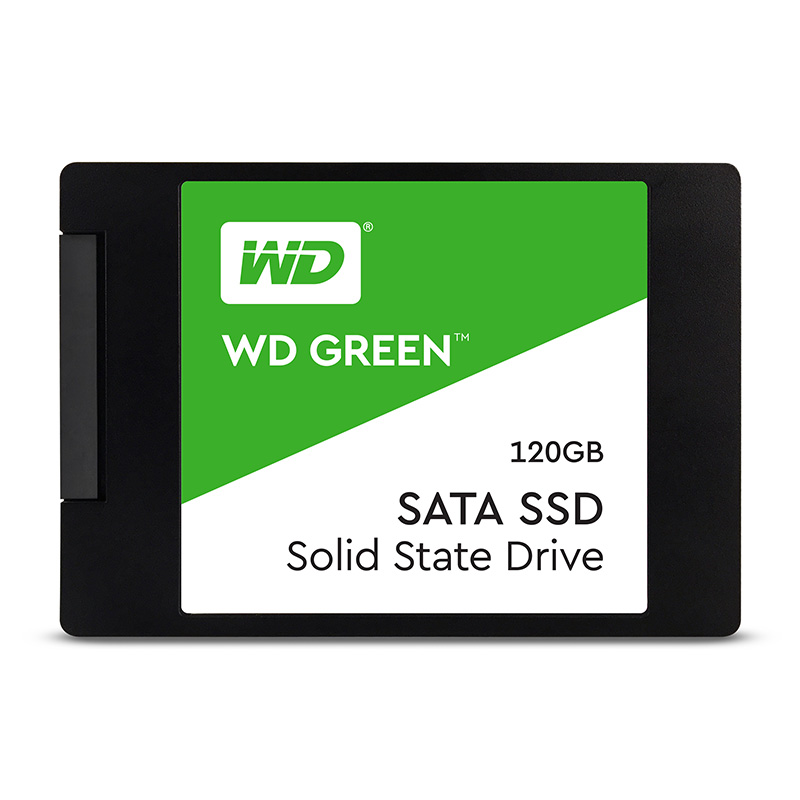 SSD 2,5'' 120GB WD Green 3D NAND SATAIII 7mm - WDS120G2G0A