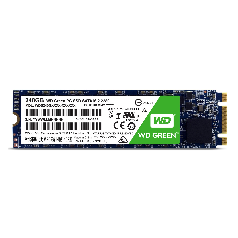SSD 240GB WD Green M.2 SATAIII 2280