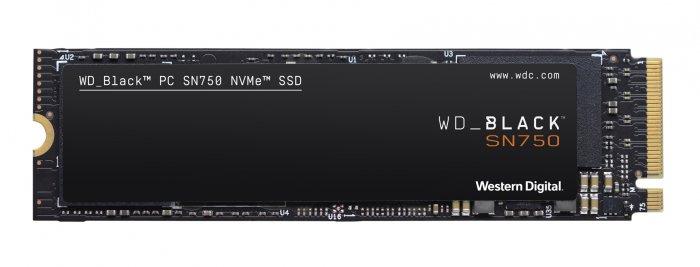 SSD 250GB WD Black SN750 NVMe M.2 PCIe Gen3 2280