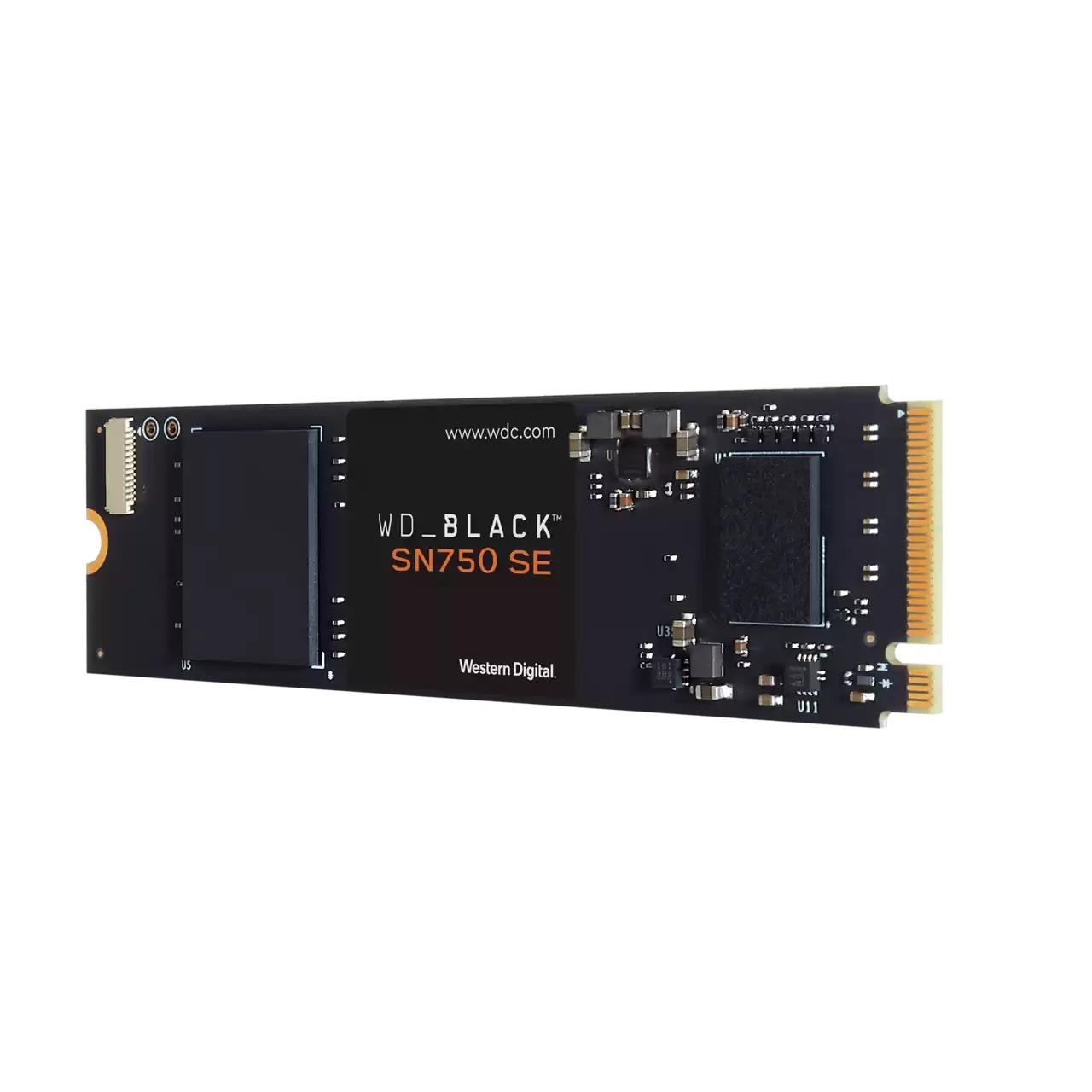 SSD 500GB WD_BLACK SN750 SE NVMe M.2 PCIe Gen4 - WDS500G1B0E