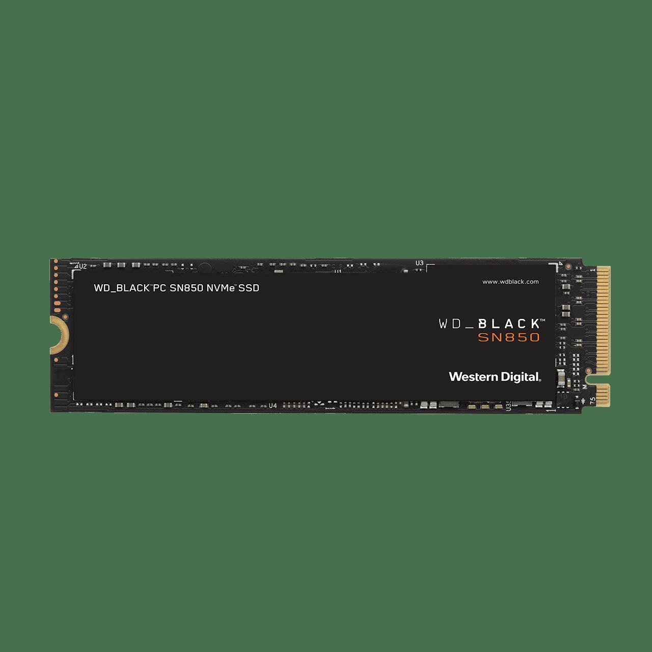 SSD 2TB WD_BLACK SN850 NVMe M.2 PCIe Gen4 2280 - WDS200T1X0E