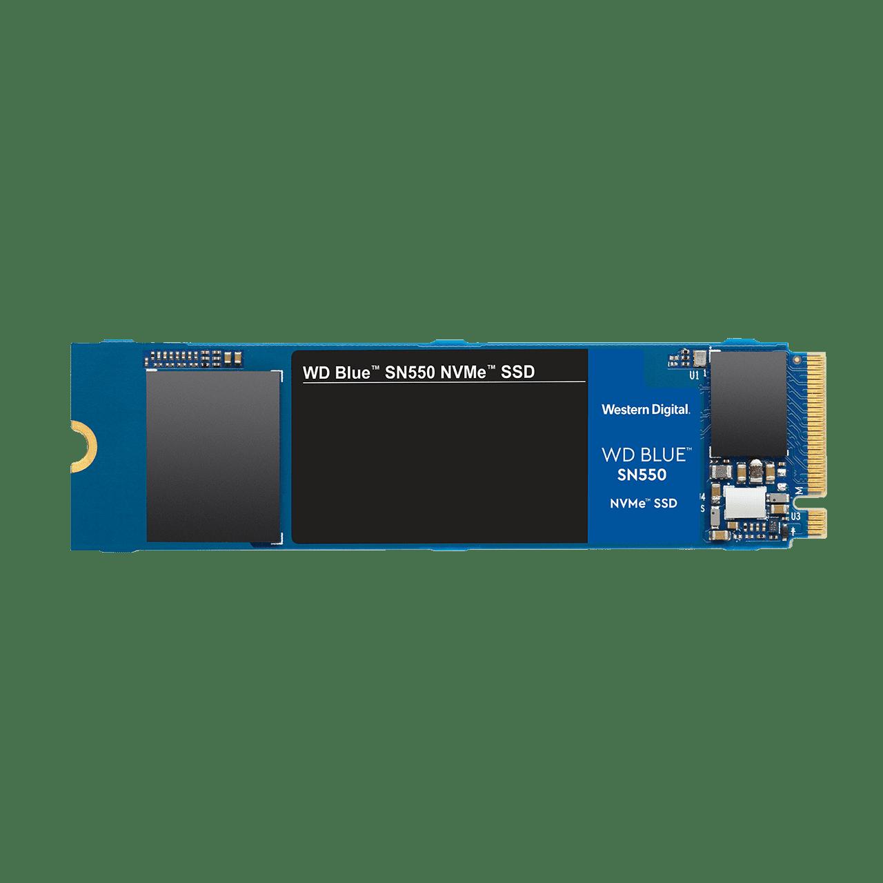 SSD 500GB WD Blue SN550 NVMe M.2 PCIe Gen3 2280