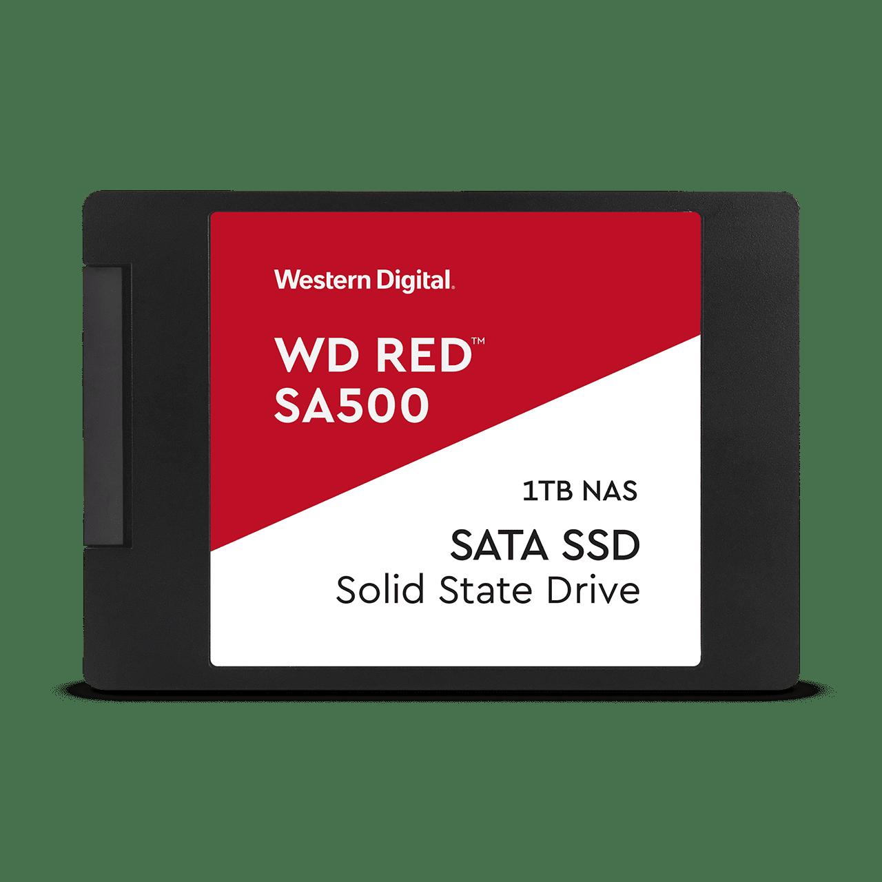 SSD 2,5'' 1TB WD Red SA500 SATAIII 7mm - WDS100T1R0A