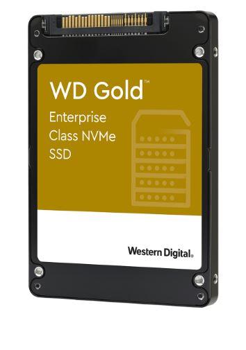 SSD 1.92TB WD Gold NVMe U.2 PCIe Gen3.1 7mm
