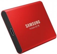 SSD 500GB Samsung externí,Červený