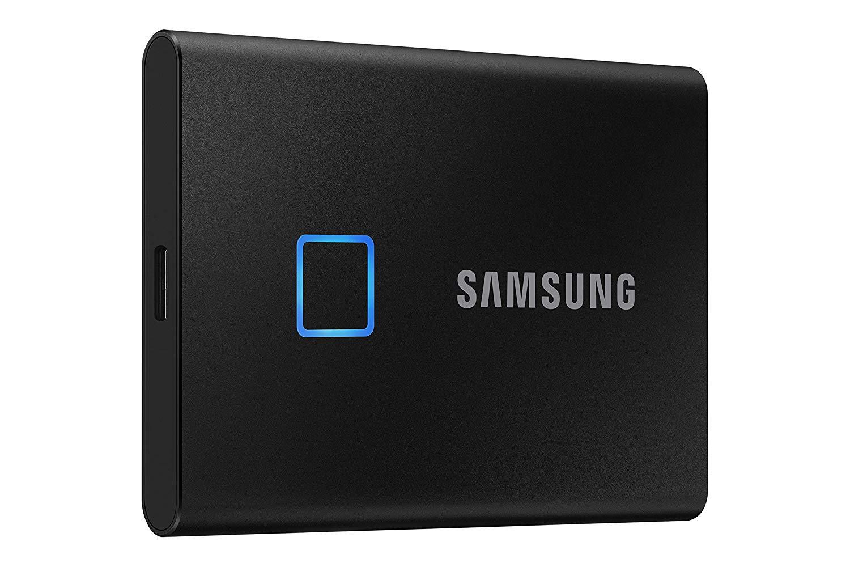 SSD 1TB Samsung externí T7 Touch, černý