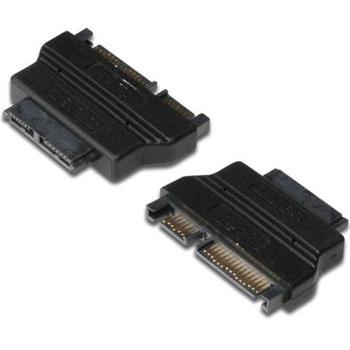 PremiumCord SATA Adapter, Slimline SATA13pin F - SATA22pin M