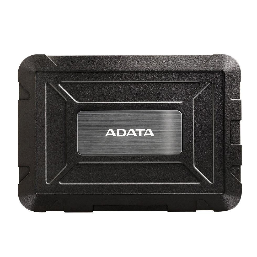 ADATA ED600 odolný externí box pro HDD/SSD 2,5'' - AED600-U31-CBK