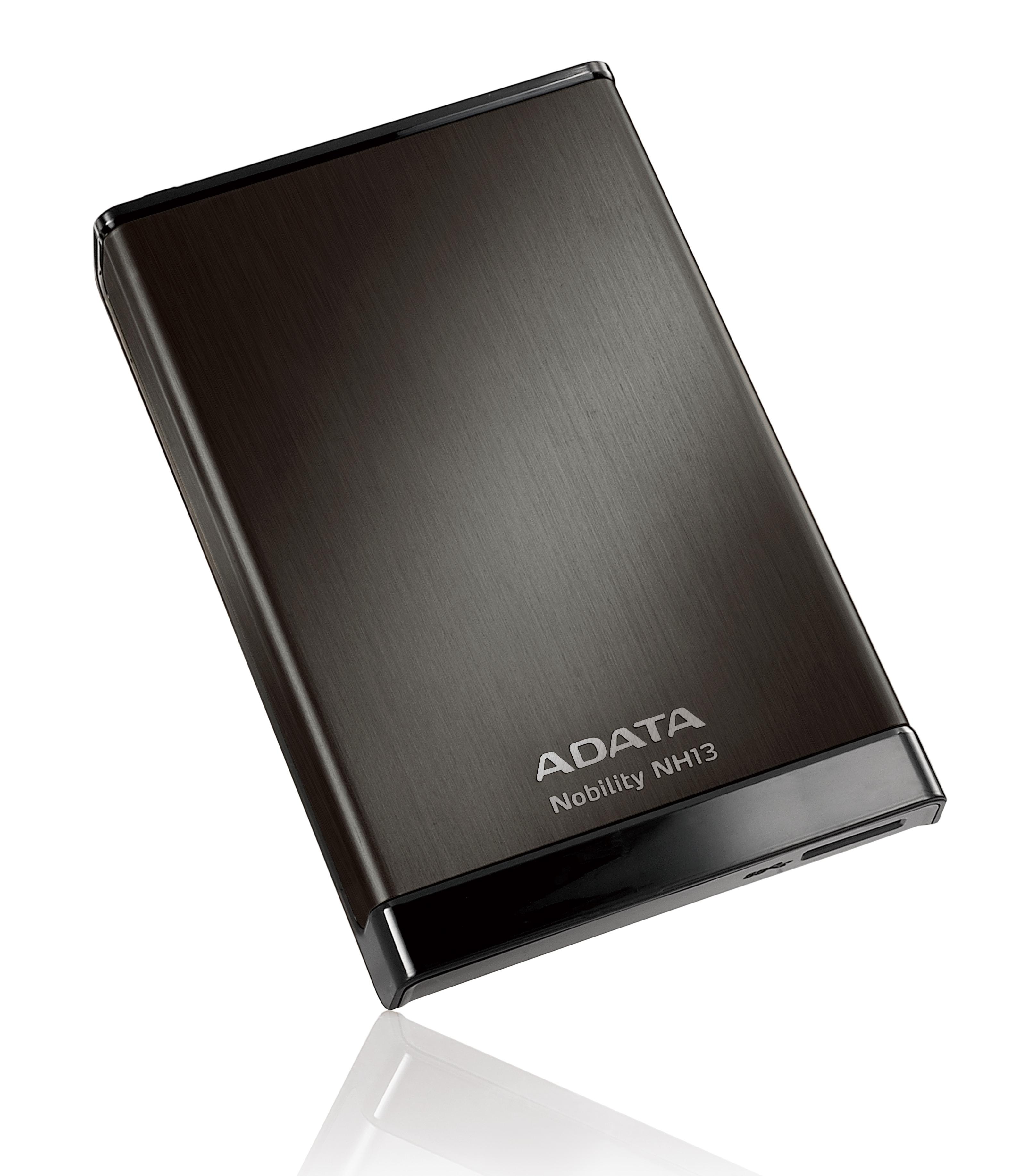 ADATA NH13 1TB External 2.5  HDD Black