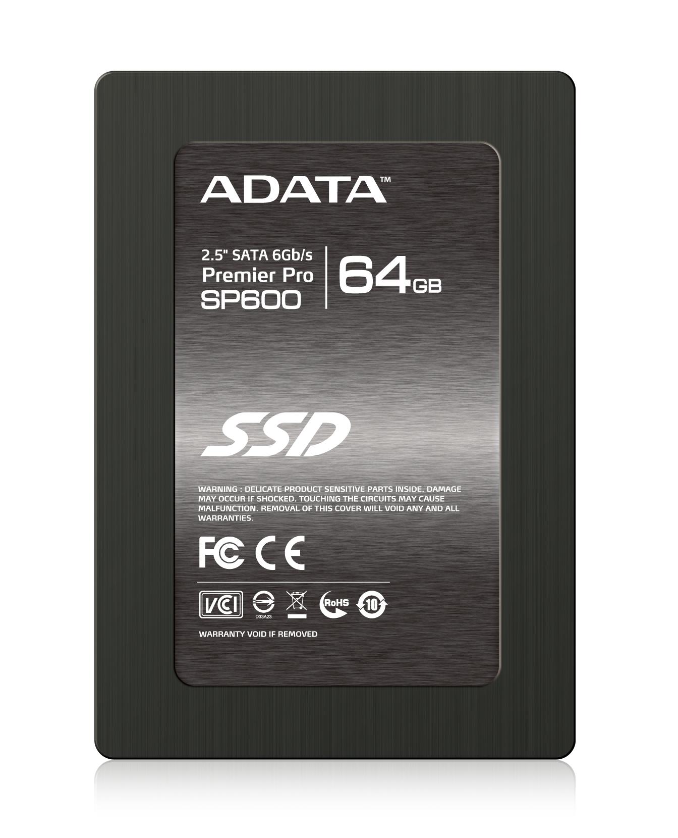 ADATA SSD SP600 64GB 2.5