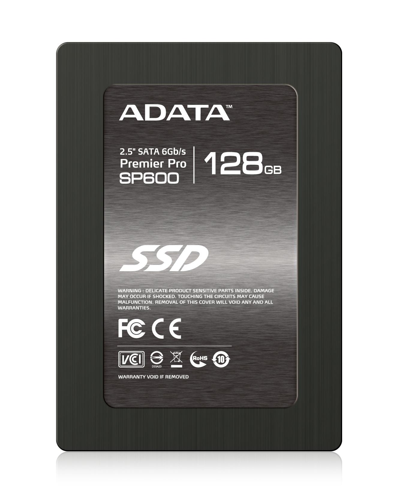 ADATA SSD SP600 128GB 2.5'' SATA III 540/150MB/s
