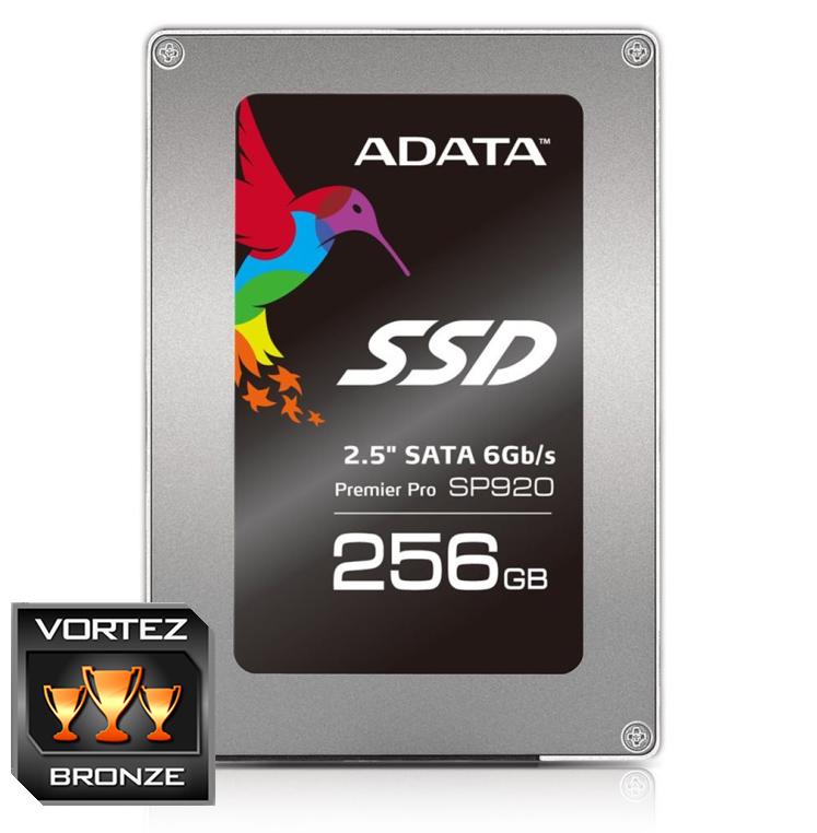 """ADATA SSD SP920 256GB 2.5"""" SATA III 560/360MB/s"""