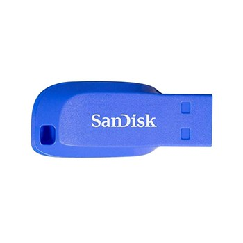 SanDisk Cruzer Blade 32GB USB 2.0 elektricky modrá - SDCZ50C-032G-B35BE