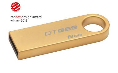 8GB Kingston USB 2.0 DataTraveler GE9 (Gold)
