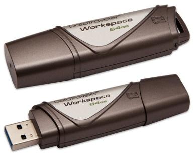 64GB Kingston USB 3.0 DataTraveler Workspace