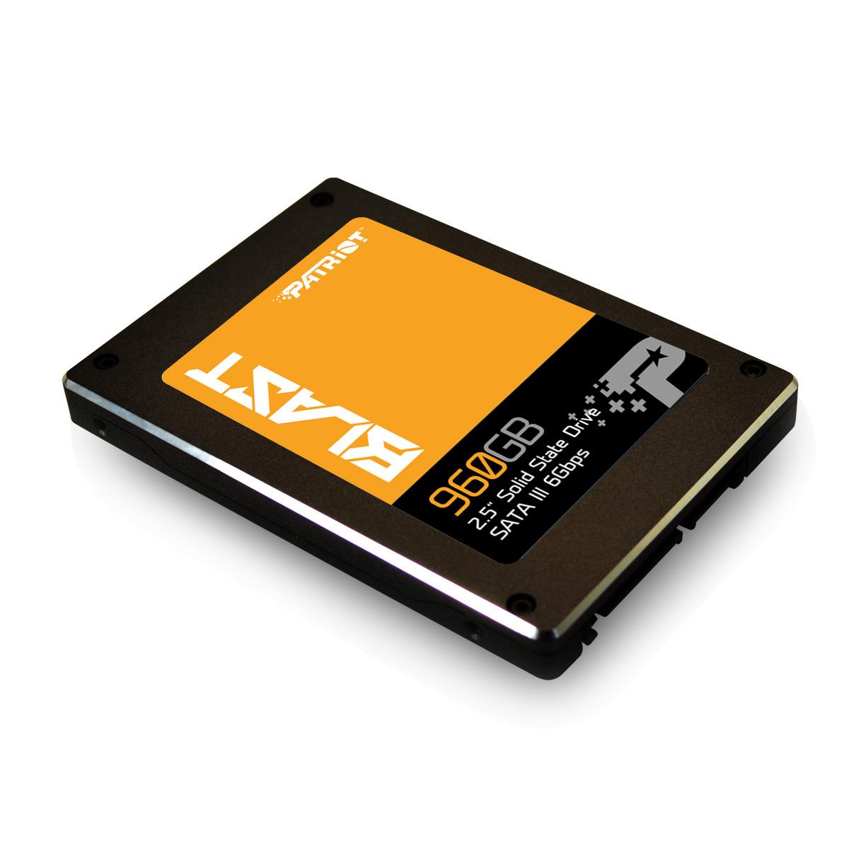 SSD 960GB PATRIOT Blast  560/540MBs 100K