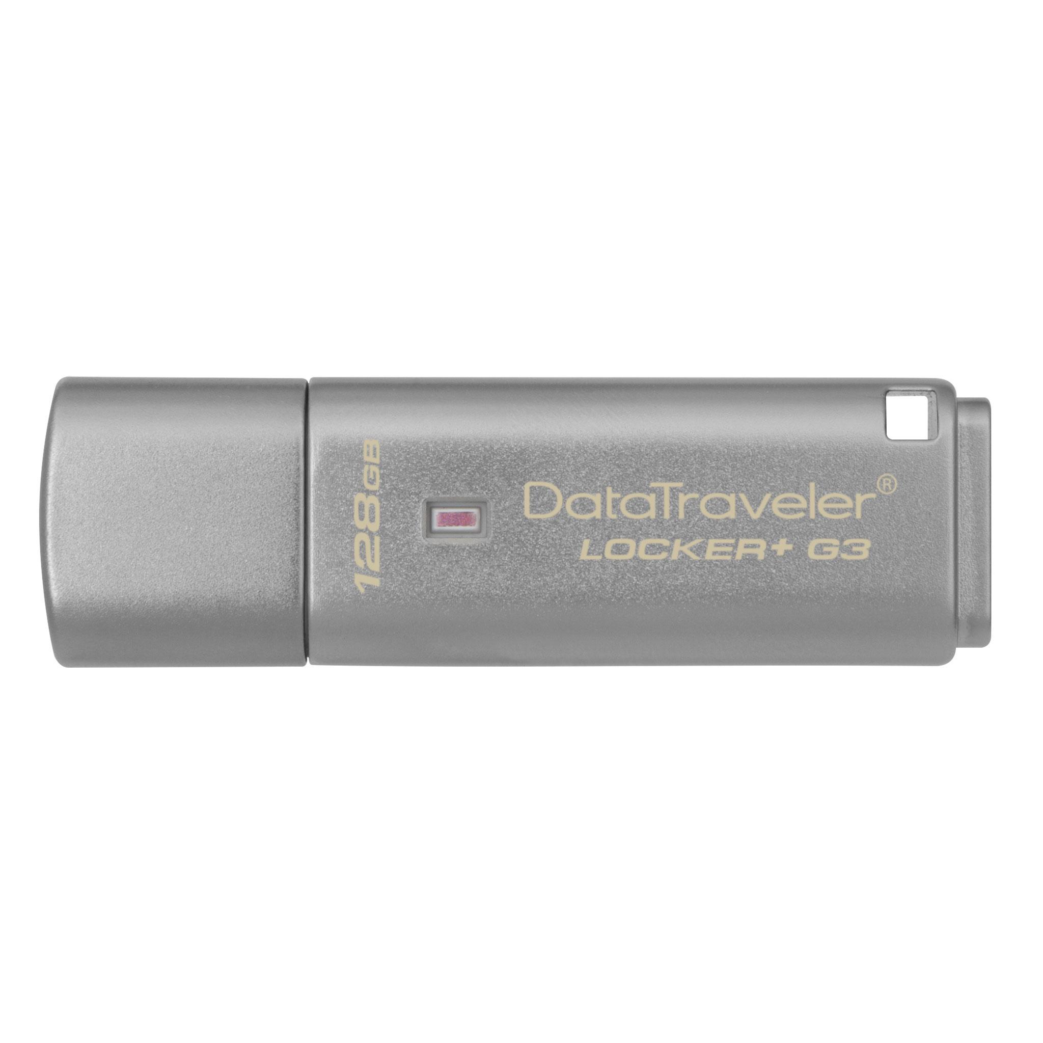 128GB USB 3.0 DT Locker+ G3 (vc. A. Data Security) - DTLPG3/128GB