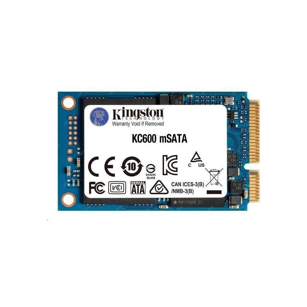 1024GB SSD KC600  Kingston mSATA