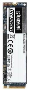 500GB SSD KC2000 Kingston M.2 2280 NVMe