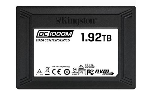 1920GB SSD DC1000M Kingston U.2 2280 NVMe