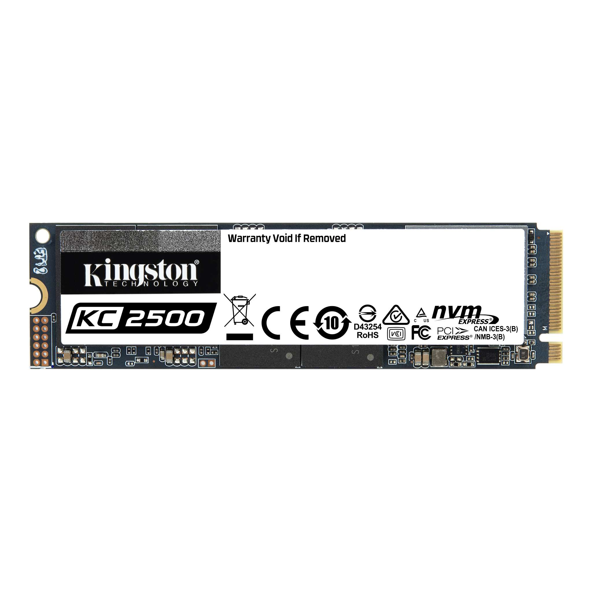 1000GB SSD KC2500 Kingston M.2 2280 NVMe