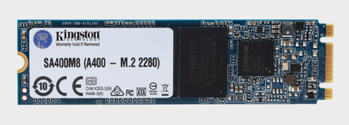 120GB SSD A400 Kingston M.2 320/500MBs