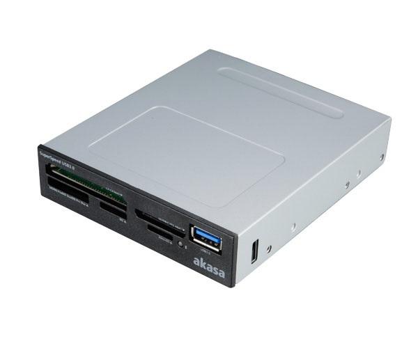 AKASA USB 3.0 interní čtečka karet SD 4.0