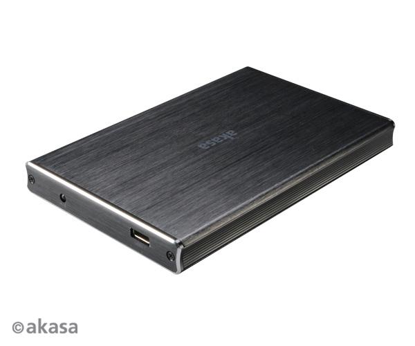 "AKASA Noir 2SX USB 3.1 pro 2,5"" SATA HDD a SSD"