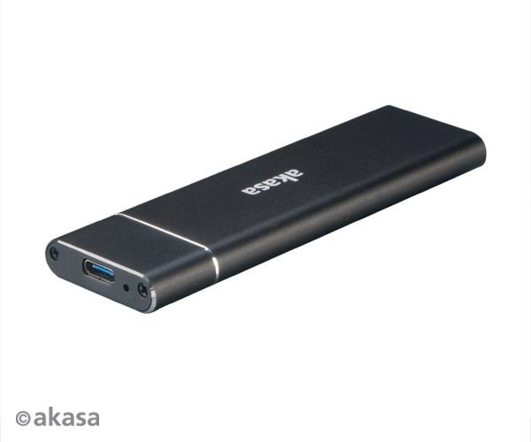 AKASA USB 3.1 Gen 2 externí rámeček pro M.2 SSD - AK-ENU3M2-02