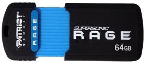 64GB Patriot SuperSonic Rage 3.0 USB 180/50MBs