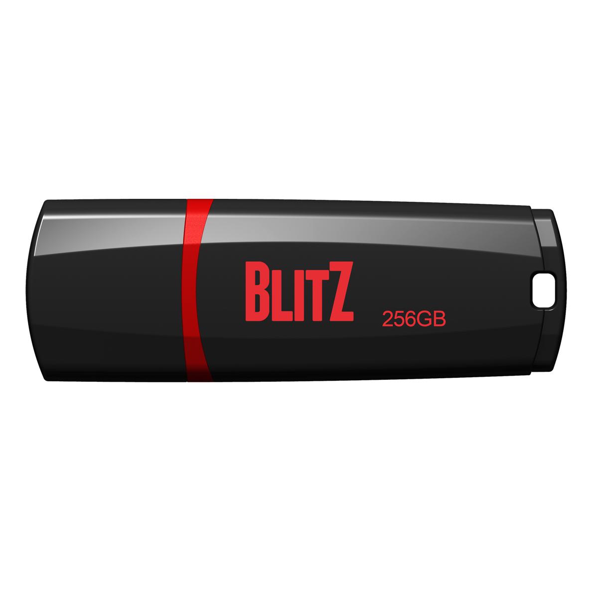 256GB Patriot Blitz USB 3.0, černý LED