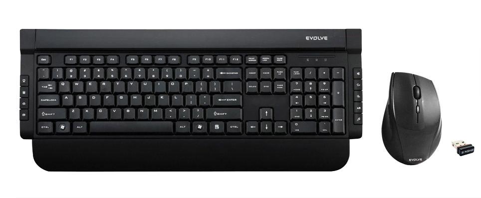 EVOLVEO WK221, klávesnice a opt. myš, USB