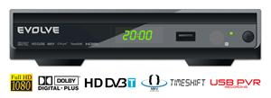 EVOLVE Galaxy HD DVB-T rekordér,USB PVR MPEG-4 MKV