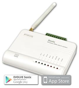 EVOLVEO Sonix -bezdrátový GSM alarm Android,PIR