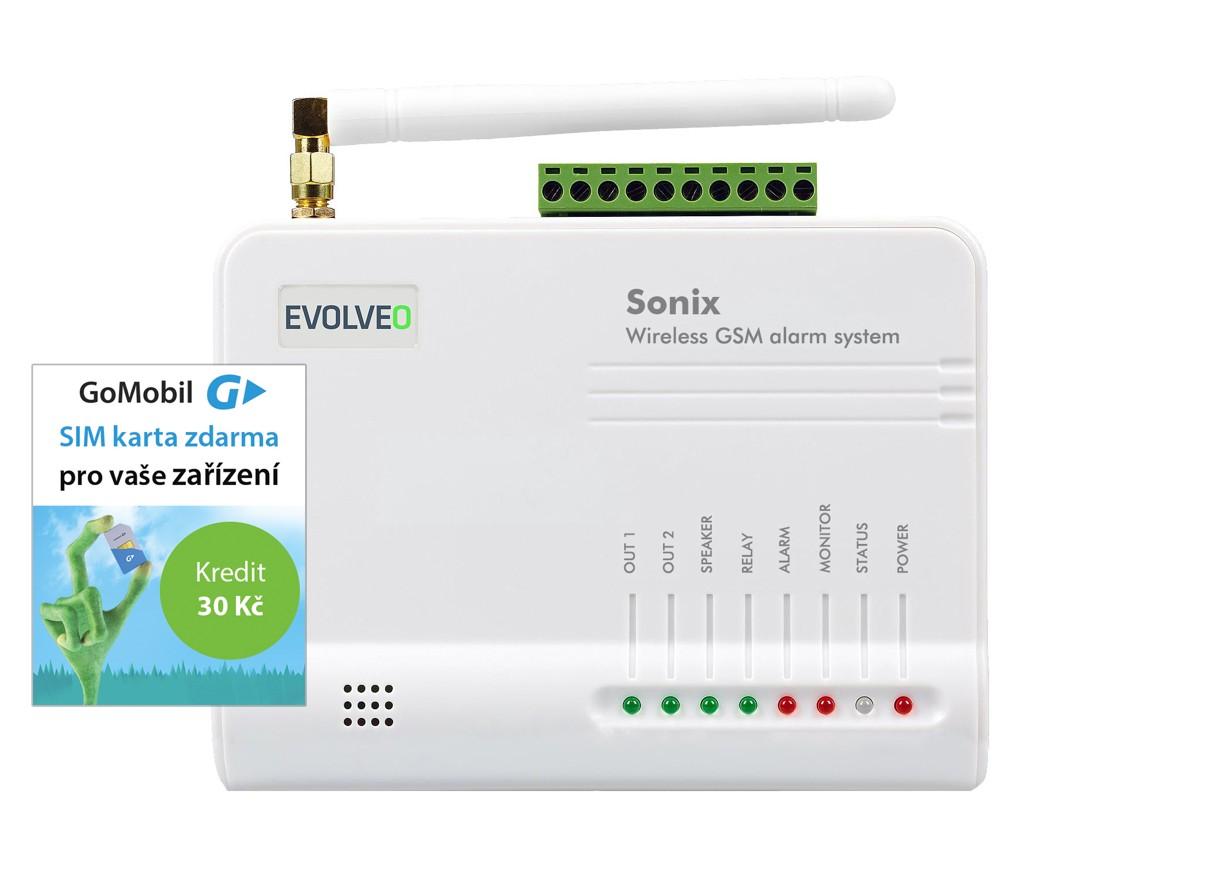 EVOLVEO Sonix, bezdrátový GSM alarm - ALM301