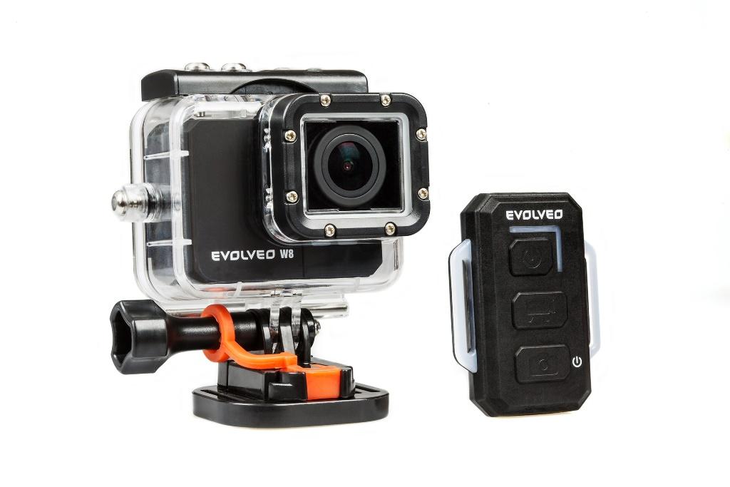 EVOLVEO SportCam W8, 1080p/60fps, vodotěsná 60m