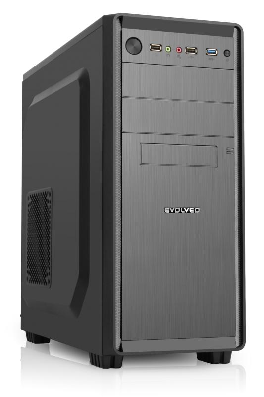 EVOLVEO R05, 500W 80%, PSU, case ATX