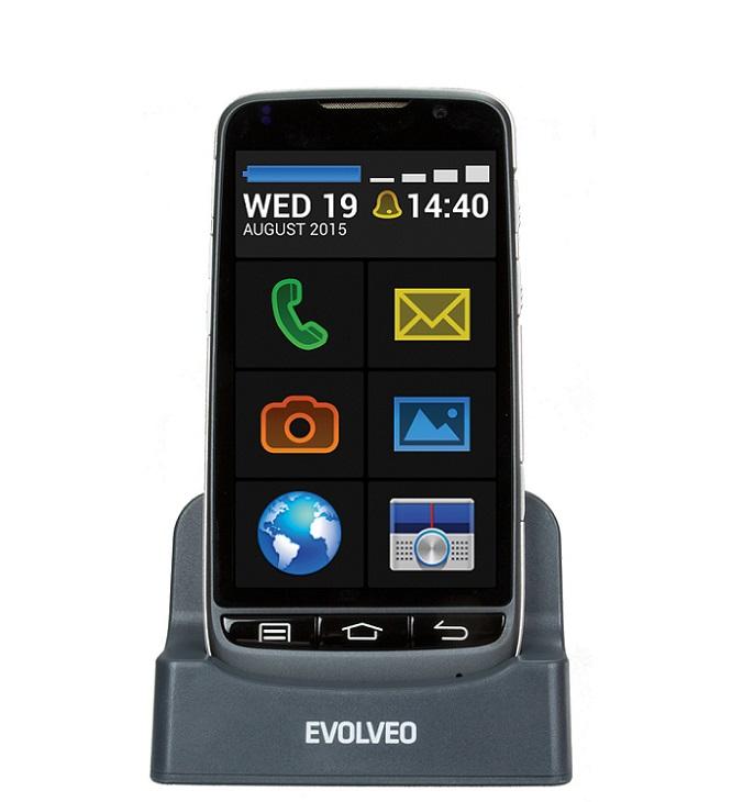 EVOLVEO EasyPhone D2, Android se snadným ovládáním